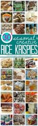 rice krispie treats for every season and taste
