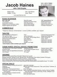 Ballet Resume Sample by Fishing Resume Template Billybullock Us