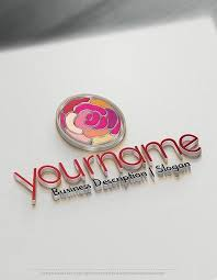 design free logo fashion flower logo template