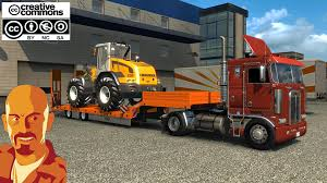 Oversize Load Flags Kenworth K100 Ets2 1 30 X Truck Mod Euro Truck Simulator 2 Mods