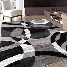 amazon com rugshop contemporary modern circles abstract area rug