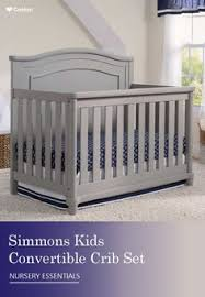 Simmons Convertible Crib The Crib Collection From Simmons Is Big On Style