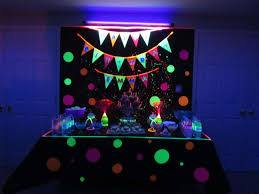 glow in the party glow in the birthday party ideas photo 2 of 12 catch my party