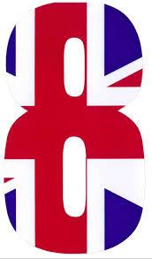 wheelie bin stickers union jack number house garden ebay