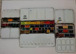 the watercolour log palettes part one
