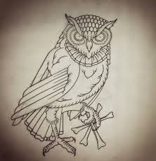 36 best owl sketches for small tattoos images on pinterest bijou
