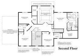 Double Master Bedroom Floor Plans by Marlboro Ridge The Estates The Harding Home Design