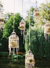 bird cage decoration how to decorate a birdcage for a wedding 13176