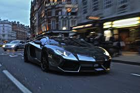 Loud Black Chrome Lamborghini Aventador Crazy Sounds U0026 Details