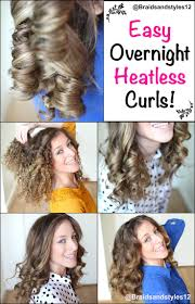 158 best no heat waves curls images on pinterest hairstyles