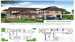 house designs and floor plans tropical house design philippines