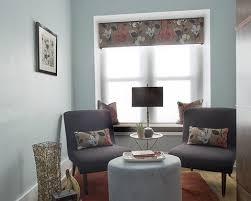 Contemporary Cornice Gossamer Blue Mode Milwaukee Modern Living Room Image Ideas With