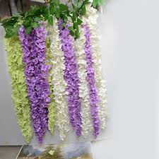 wisteria home decor aliexpress com buy 90cm artificial flower rattan wisteria