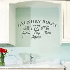 How To Decorate A Laundry Room Laundry Room Decals Walls Decoration Laundry Room Wall Decals Home