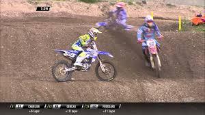 motocross race van jeremy van horebeek crash mxgp of trentino 2015 motocross youtube