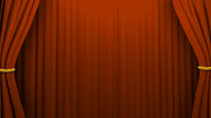 Red Orange Curtains Theater Curtains With Alpha Orange Stock Footage Video 3090079