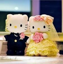 hello wedding cake topper 30cm yellow lace design hello wedding cake topper plush toys