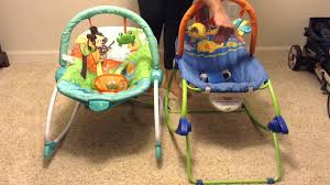 Infant Toddler Rocking Chair Bright Starts Baby To Big Kid Rocker Review Youtube