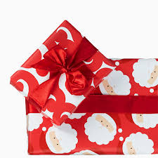 reversible christmas wrapping paper santa swirl reversible wrapping paper mixed bag designs