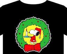snoopy christmas shirts light up christmas t shirt ebay