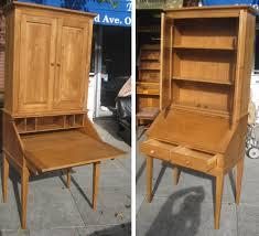 Cherry Secretary Desk With Hutch by Uhuru Furniture U0026 Collectibles Sold Ethan Allen Secretary Desk