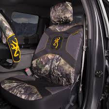 Camo Bench Seat Covers For Trucks Front Car Truck Suv Low Back Bucket Seat Covers Browning