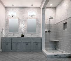 useful marble or ceramic tile in bathroom with additional small
