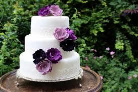 wedding cake flowers purple flower wedding cake toppers forever flowers flower cake