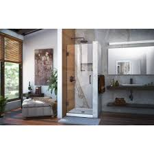 23 Shower Door Unidoor 23 30 Hinged Shower Door Dreamline