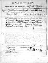 Virginia General Power Of Atto by The Rejection Of Elizabeth Mason National Archives