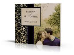 wedding sign in books custom wedding photo guest books sign in books