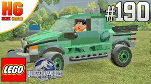 lego jurassic world jeep lego jurassic world veículos coletor da isla sorna detonado