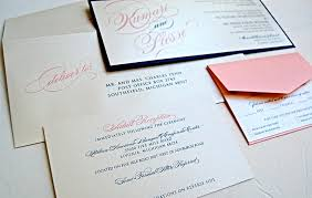 navy blue and pink wedding invitations casadebormela com