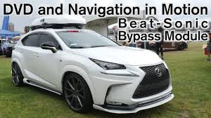 lexus nx awd button 2015 2017 lexus nx 200t dvd and navigation in motion beat sonic