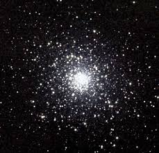 Photograph M  is a large globular cluster in the constellation Serpens