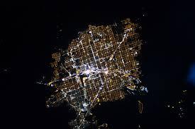 World Map At Night by File Las Vegas At Night Jpg Wikimedia Commons
