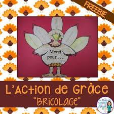 l de grâce thanksgiving freebie by la classe de