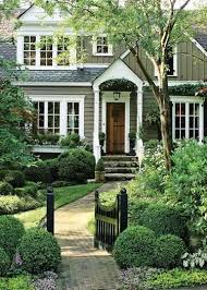 Curb Appeal Front Entrance - beautiful home inspiration classic traditional style exterior