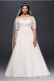 Wedding Skirt One Shoulder Wedding Dresses U0026 Gowns David U0027s Bridal