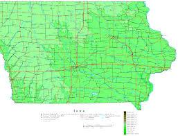 Map Of Cedar Falls Iowa Iowa Printable Map