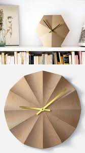 Gold Home Decor Accessories 14 Modern Wood Wall Clocks To Spruce Up Any Decor Contemporist