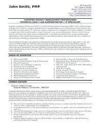 Resume Templates For Project Managers Pmp Certified Resume Sample U2013 Topshoppingnetwork Com