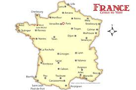 France Regions Map by France Region And City Map Map Of France With Cities Recana