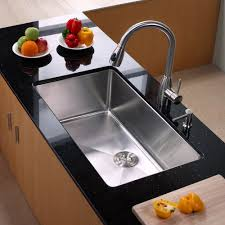 kitchen sink and faucet combo trends including rvc stainless steel