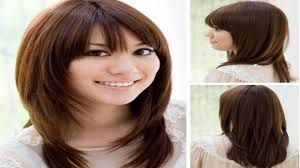 long layered haircut with curls hair tutorial youtube