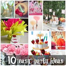 1st Birthday Party Decorations Homemade 10 Easy Party Ideas