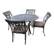 vintage u0026 used black patio and garden furniture chairish