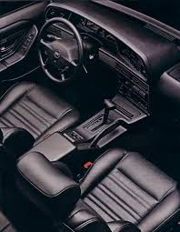 1989 Ford Thunderbird Super Coupe Club Of America