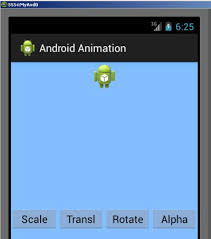 imageview android image view animation in android studio