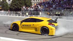 renault megane trophy roadshow oviedo 2009 fernando alonso megane trophy video 2
